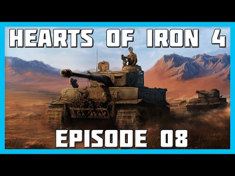 Hearts of Iron 4 Germany Gameplay Ep.8 - Invading the Low Countries