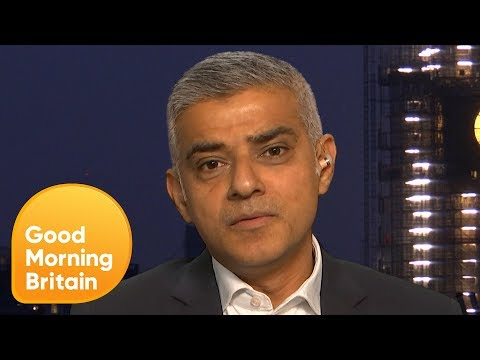 Brexit: Sadiq Khan Says the UK Could Lose 500,000 Jobs With a 'No-Deal' | Good Morning Britain