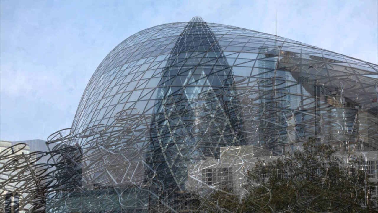 the gherkin london modern architecture youtube. Black Bedroom Furniture Sets. Home Design Ideas