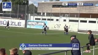 A-Junioren - TSG Balingen vs. SV Waldhof Mannheim 0:2 - Gaetano Giordano
