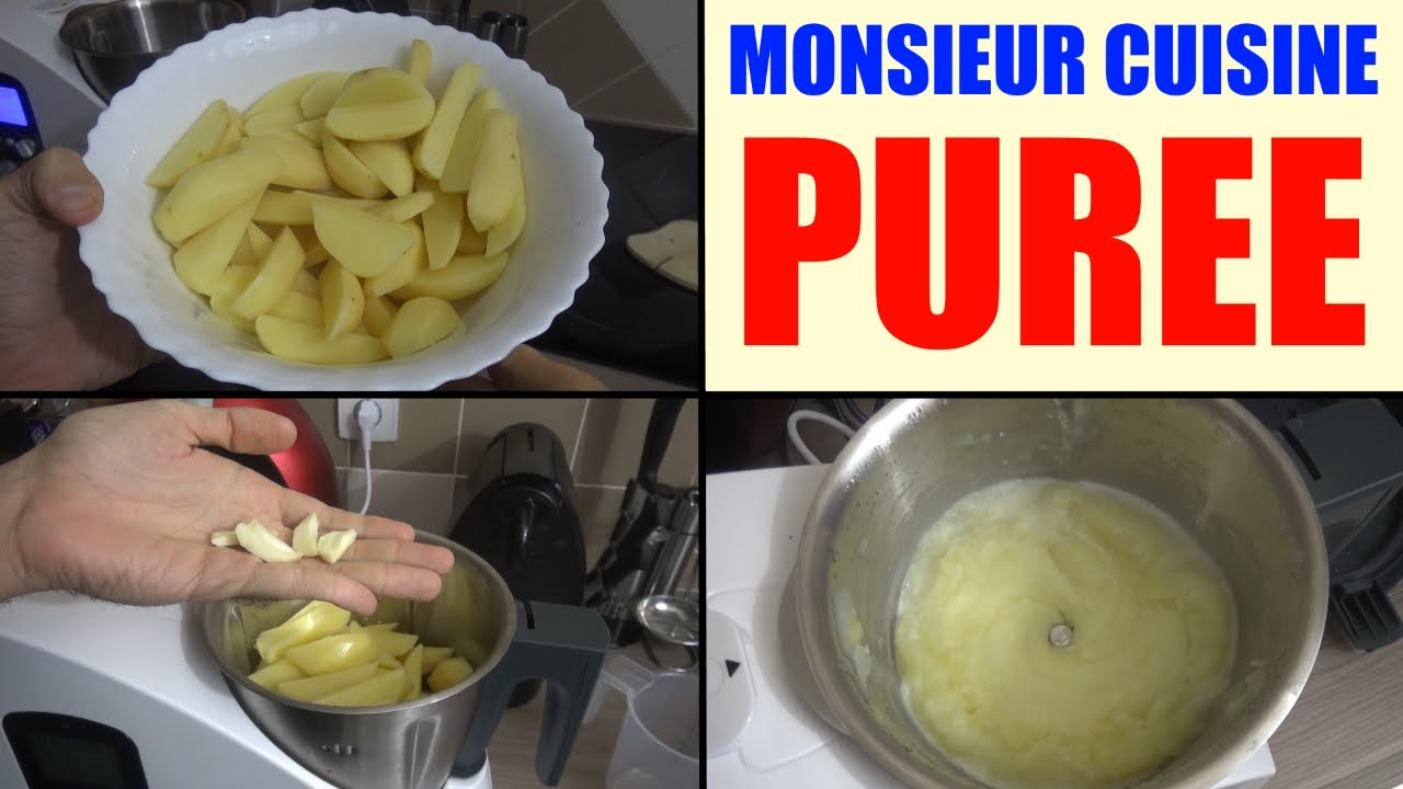 robot lidl monsieur cuisine recette puree silvercrest skmh 1100
