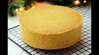 КОКОСОВЫЙ БИСКВИТ✧ Coconut Sponge Cake Recipe