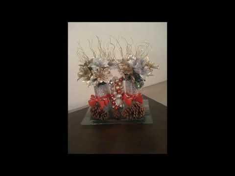 DIY | Dollar Tree | Christmas Centerpiece🎄