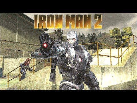 War Machine Suit Gameplay - Iron Man 2 Game