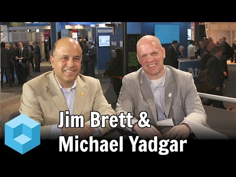 Jim Brett, SAP & Michael Yadgar, EY - #SAPPHIRENOW - #theCUBE