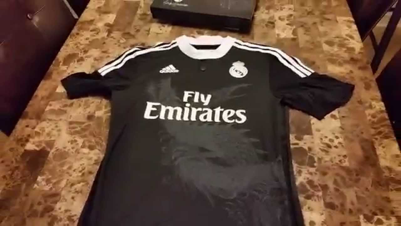 on sale c27dc 3b4f4 Authentic Real Madrid Adizero Third Jersey 2014/2015