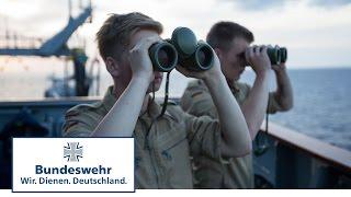 Einblick ins Marineleben: Als Offizieranwärter auf dem EGV Bonn - Bundeswehr