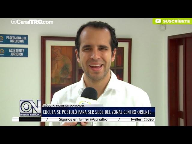 Cúcuta se postuló para ser sede del Zona Centro Oriente