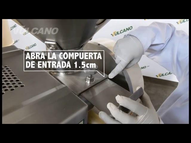 Escarificadora de quinua/ Quinoa Scarifier - Vulcanotec