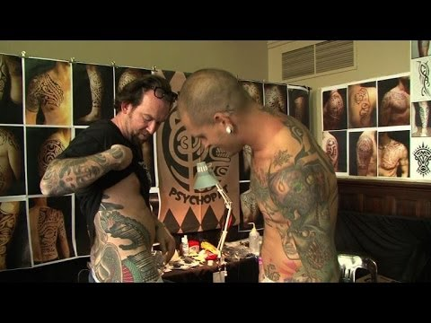 Cape Town holds Africa's largest tattoo fair