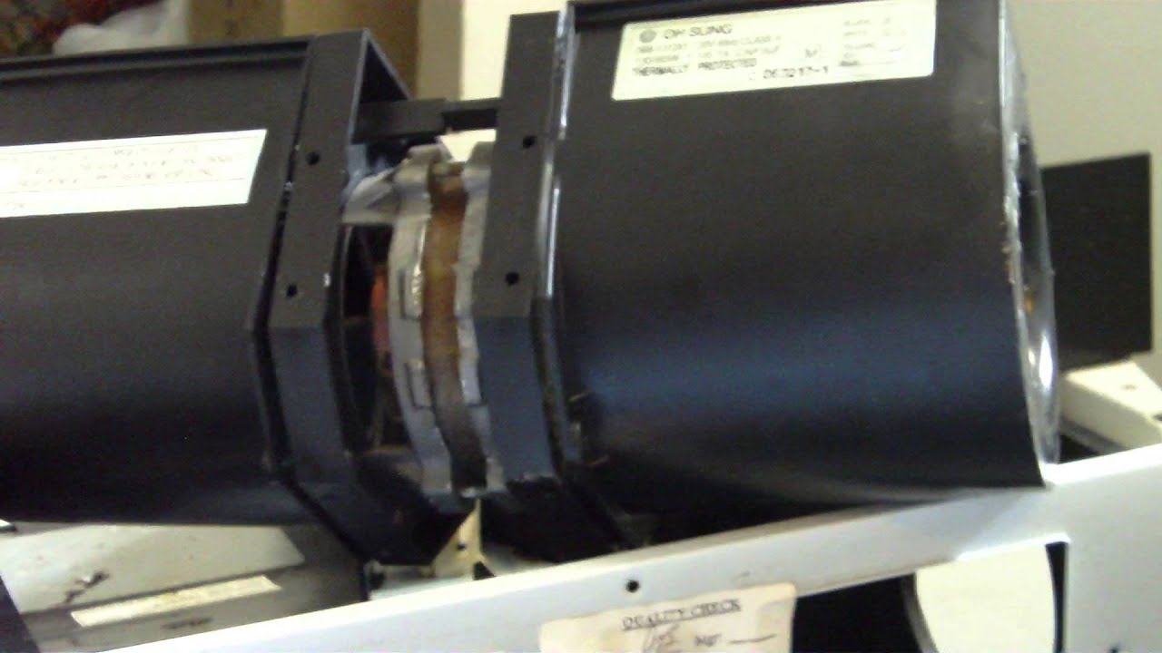 How Not To Flip A Over Range Microwave Blower Motor