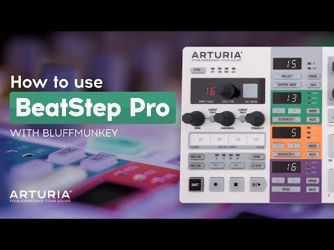 How To Use Arturia BeatStep Pro With Bluffmunkey - 03 - Synths And Final Comments