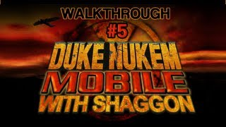 100% Walkthrough: Duke Nukem Mobile [05 - Behind Club Bel-Ami]