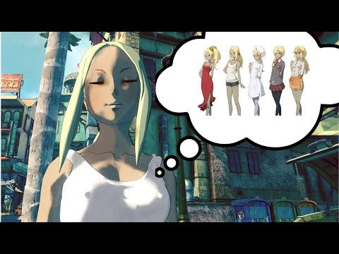 All of Kats Costumes in Gravity Rush 2 (including DLC)