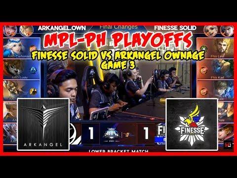 Nag Gusion na si Karl! Finesse Solid vs ArkAngel Ownage | MPL PH Season 2 Playoffs