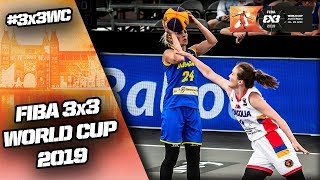 Mongolia v Romania | Women's Full Game | FIBA 3x3 World Cup 2019