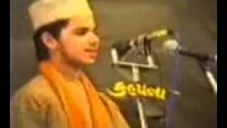 Taj ul ulema Syed Noorani Miyan Reciting Naat in his teenage