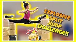 EXPLOSIVE SPLIT JUMP CHALLENGE ginnastica artistica CSB
