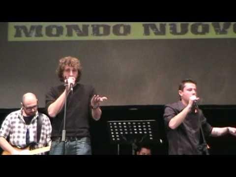 Mondo Nuovo - For Haiti Live - Matteo Bianchi & Paolo Caporali - La Cura (Franco Battiato Cover)