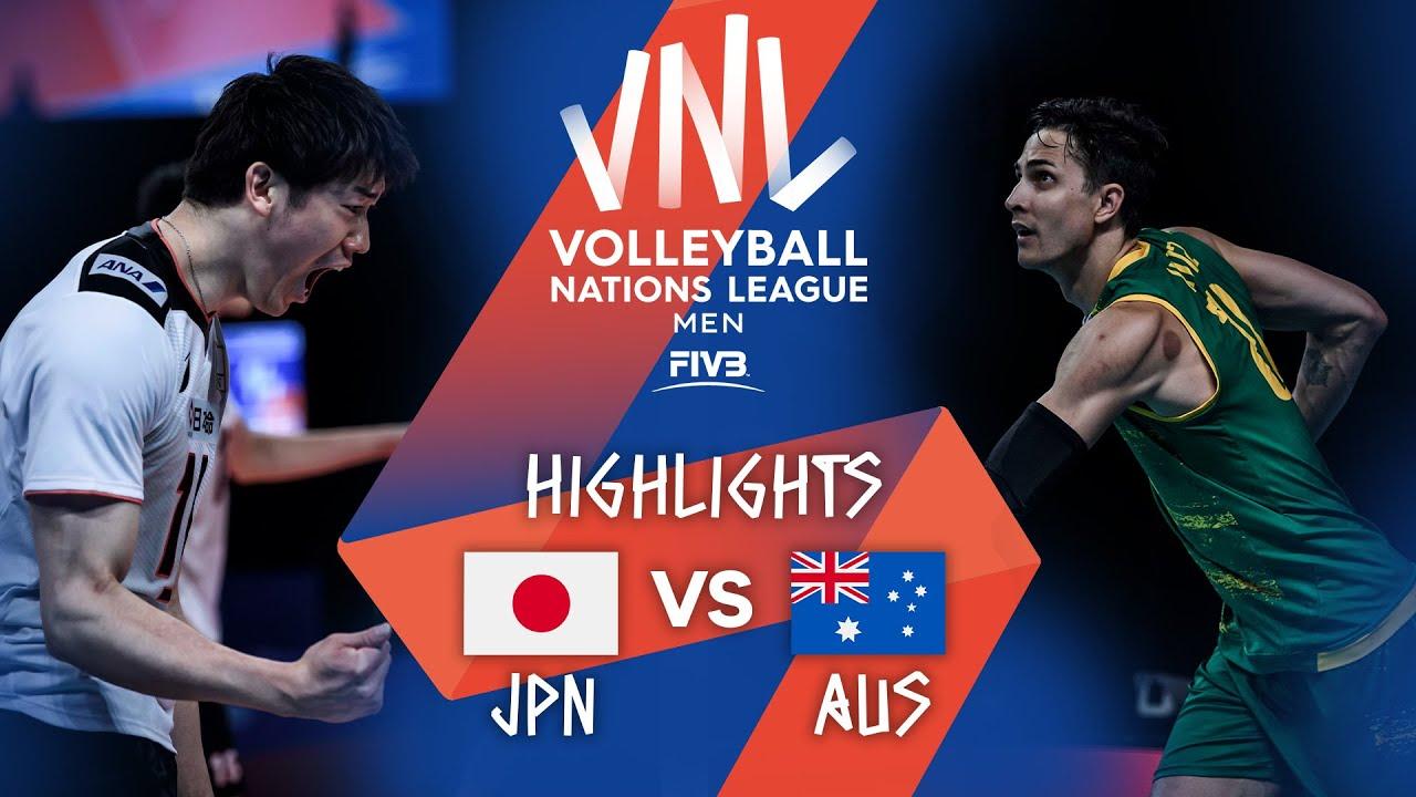 Download JPN vs. AUS - Highlights Week 3   Men's VNL 2021