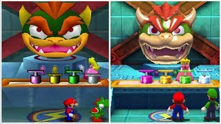 - Mario Party The Top 100 vs. Mario Party 2 All Mini Games Comparison n64 vs. 3DS