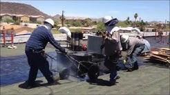 3-Ply Built Up Roof with White Energy Star Coating - Starkweather Roofing - Phoenix, Arizona