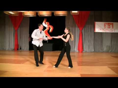 Pro-Am Dean Garrish & Alexis Garrish- Intermediate Teen West Coast Swing