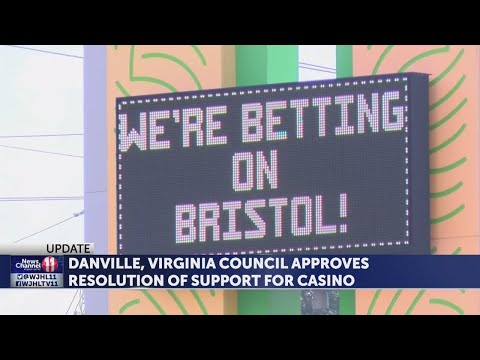 Bristol leaders respond after Danville, VA approves resolution for casino-style gambling