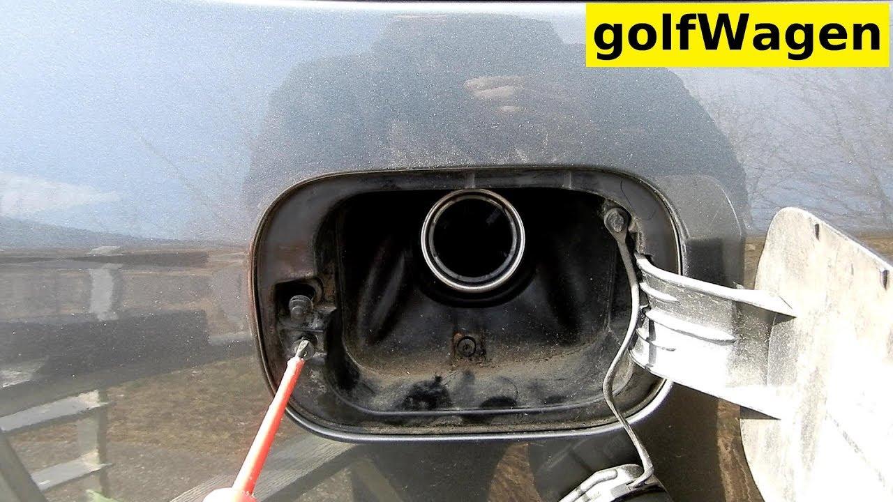 5 tankdeckel öffnen golf Golf V