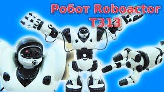 Робот на управлінні Roboactor TT 313. Ходить, повертається, танцює, кидає і піднімає предмети.