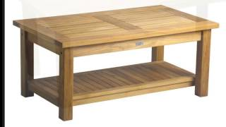 Atlantic Patio - Douglas Nance Conversation And Coffee Tables