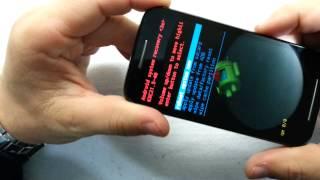 Hard Reset Motorola XT1025 Moto E - Apagar senha / Aparelho travado