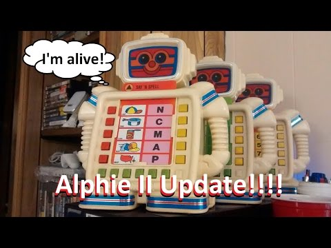 Alphie II Robot Toy by Playskool UPDATE!!!