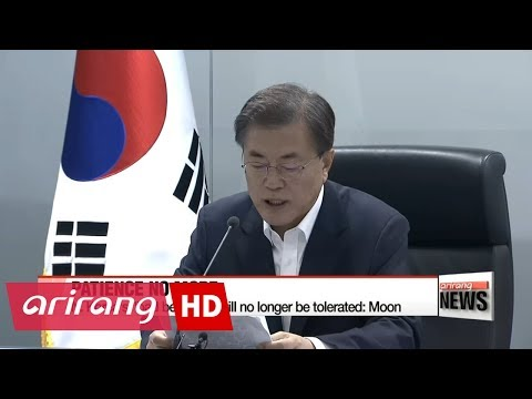 "Is North Korea close to crossing President Moon's ""Red Line""? Moon weighs all options available"