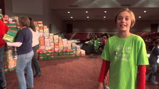 100 Millionth Shoe Box Journey Begins -  Evilyn Pinnow - Operation Christmas Child