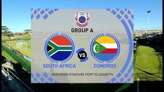 COSAFA Women's Championship | South Africa vs Comoros (ALL 17 GOALS)