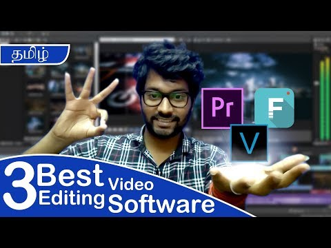 Best Video Editing Software | With Download Links | Latest Version | Tamil!!!