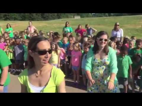 Clover Hill Elementary School Students and Staff Surprise Farewell