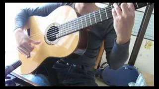 Mantilla y Peina Guajiras in D major(composed by Paco Pena)