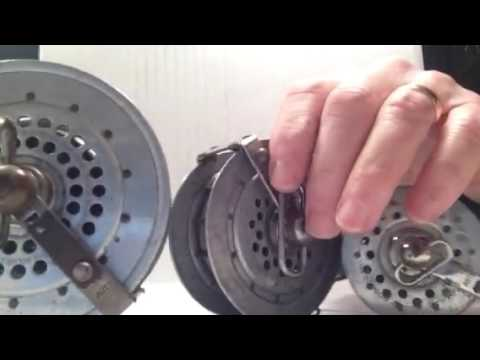 A Selection Of Early Automatic Fly Reels