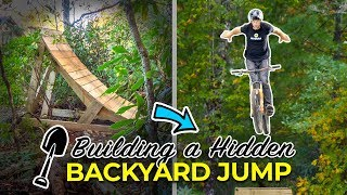 Building a Hidden Backyard Bike Jump
