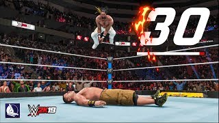 WWE 2K19 Top 30 Amazing New Diving Moves 🔥