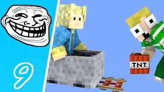 Dansk Minecraft - Trolling #09: ROLLER-COASTER TROLL!!