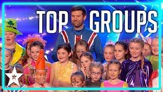 TOP 5 Kid Groups on Britain's Got Talent   Top Talent