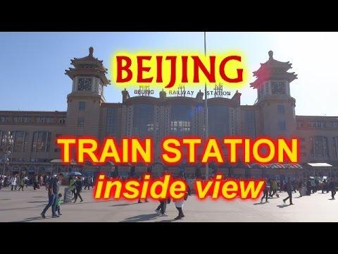 BEIJING TRAIN STATION - INSIDE VIEW 2016 / 2017 - 北京火车站 - HD Quality - Beijing railway station