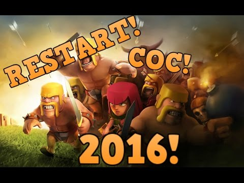 HOW TO RESTART YOUR COC BASE! NEW METHOD 2017! ANDROID AND IOS!