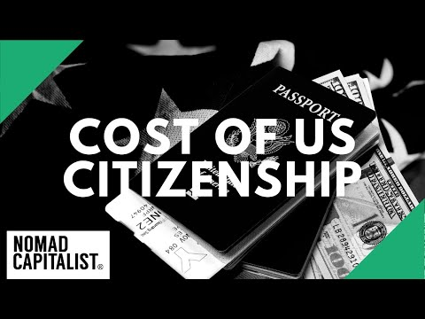What Is The Cost To Be A US Citizen?