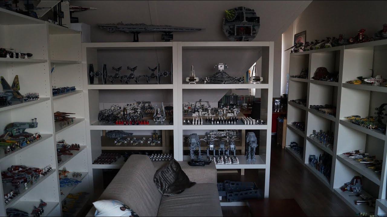 BIGGEST LEGO STAR WARS COLLECTION EVER!!! - YouTube