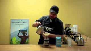 How to Brew Iced Coffee with a Hario V60