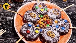 видео Яблоки в шоколаде
